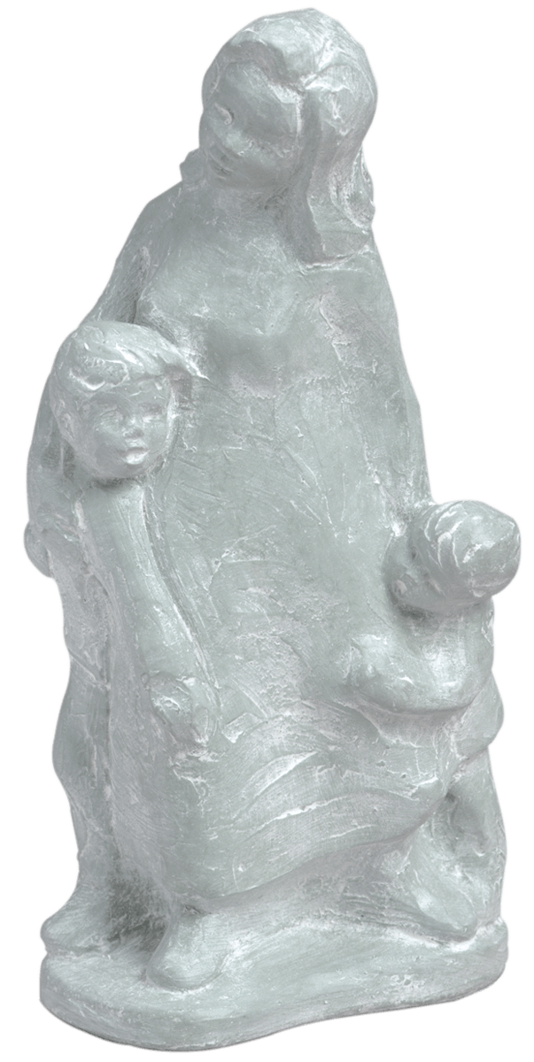 A Mother's Hold Sculpture