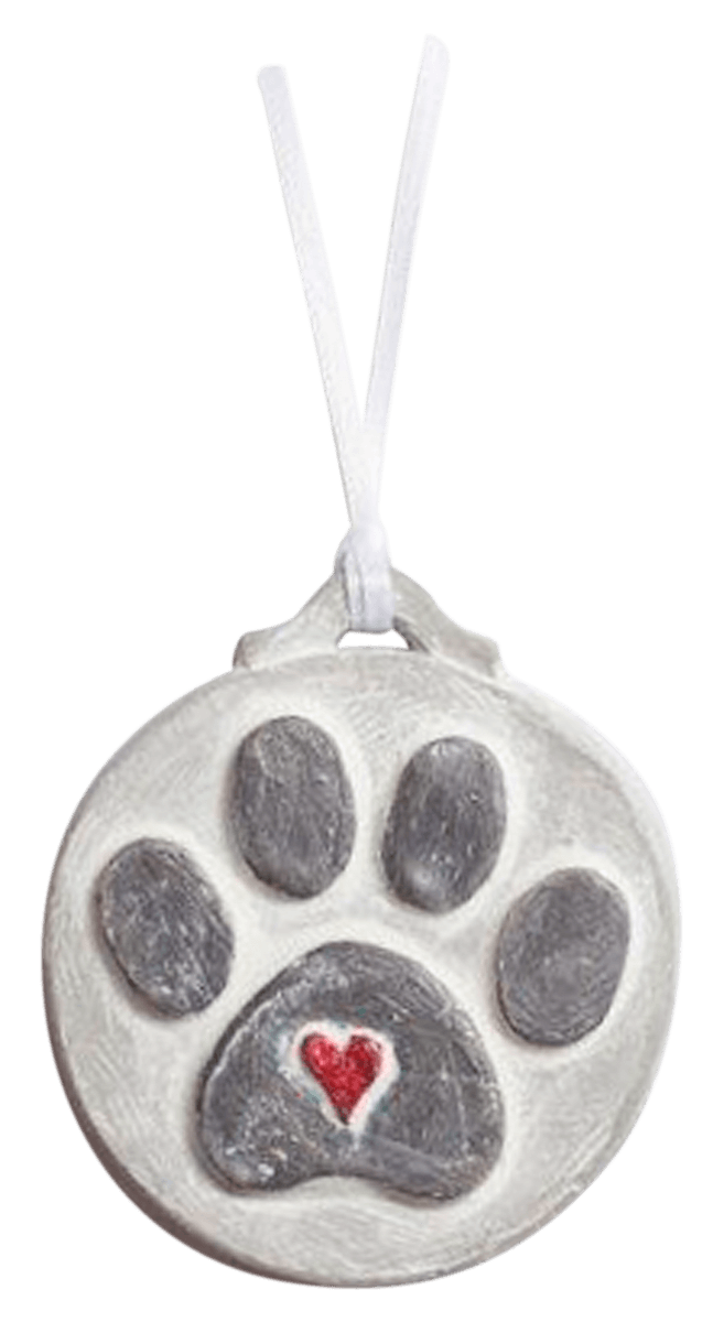 Paw Print Ornament Isabel Bloom