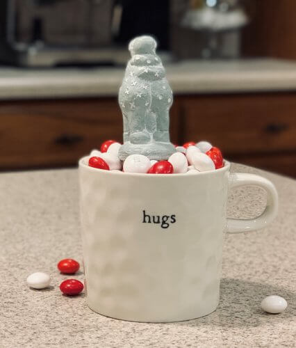 Hugs and Mug by Isabel Bloom